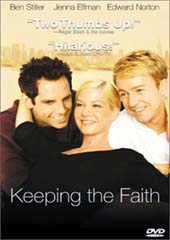 Keeping the Faith on DVD