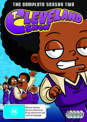 The Cleveland Show - Series 2 on DVD image