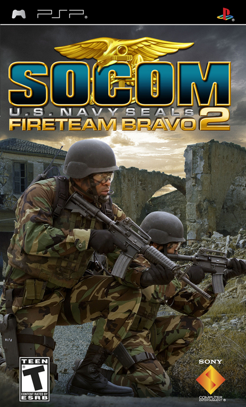 SOCOM U.S. Navy SEALs: Fireteam Bravo 2 Bundle for PSP