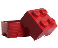 LEGO: Storage Brick 4 - Red