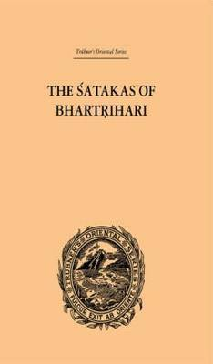 The Satakas of Bhartrihari by Biscoe Hale Wortham image