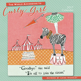 Curly Girl - Small Curly Girl Calendar 2017 by Leigh Standley