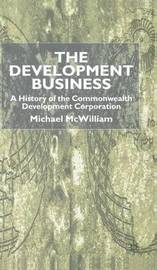 The Development Business by Michael McWilliam image