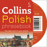 Polish Phrasebook CD Pack by Collins UK image