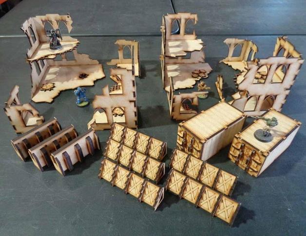 TTCombat: Tabletop Scenics - Ruin Sector