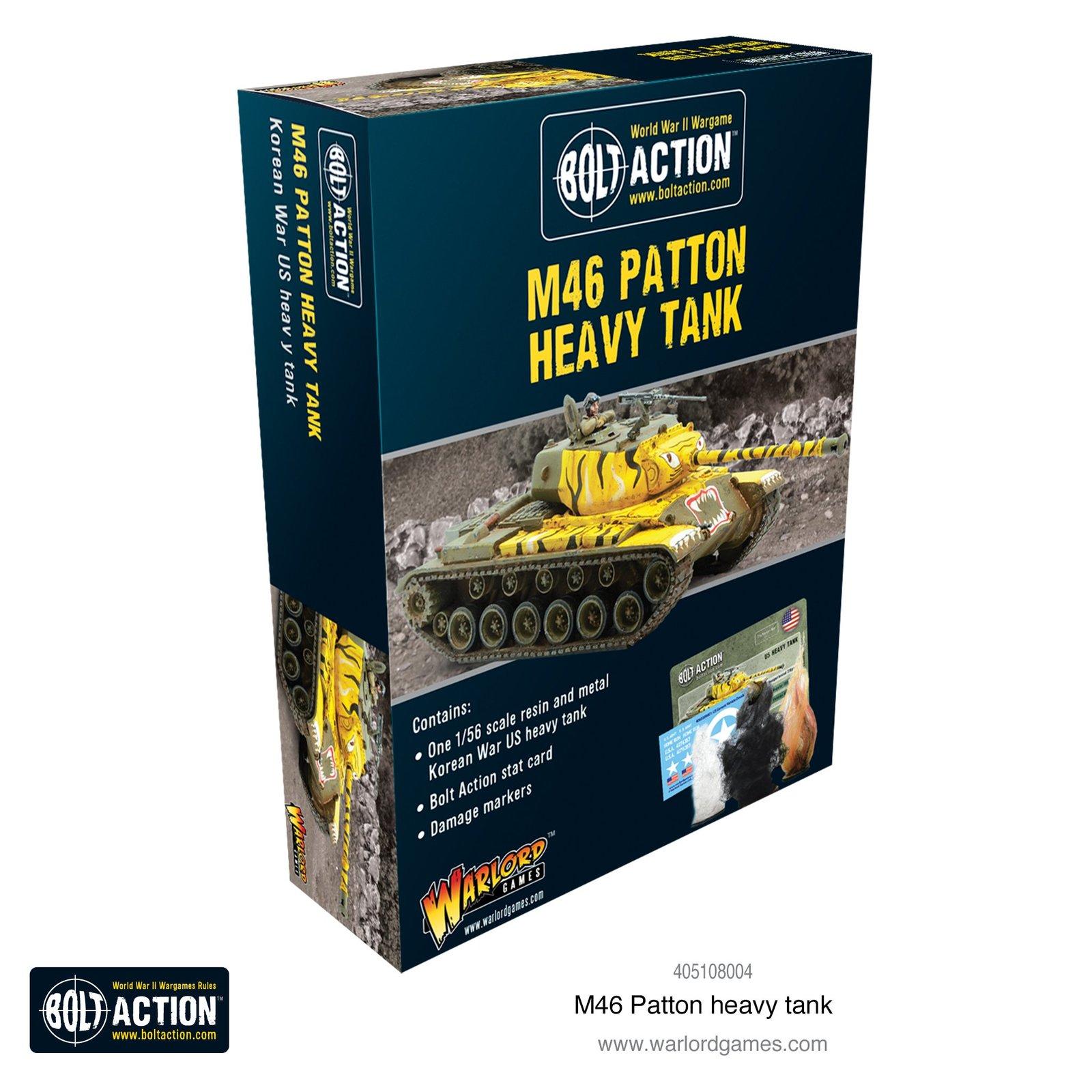 Bolt Action: M46 Patton heavy tank image