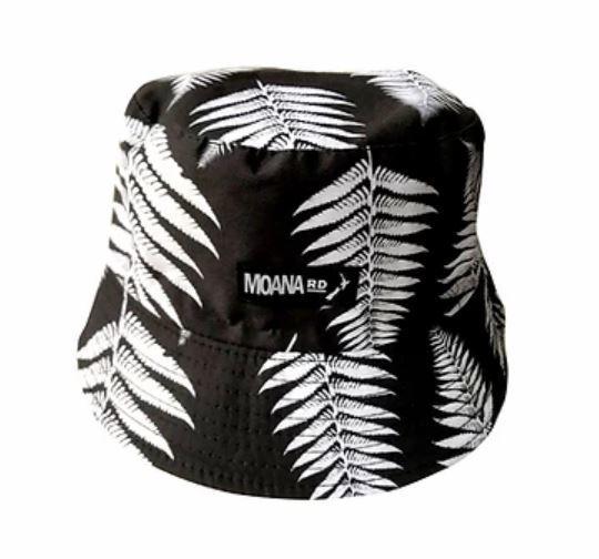 Moana Road: Mens Bucket Hat - Fern