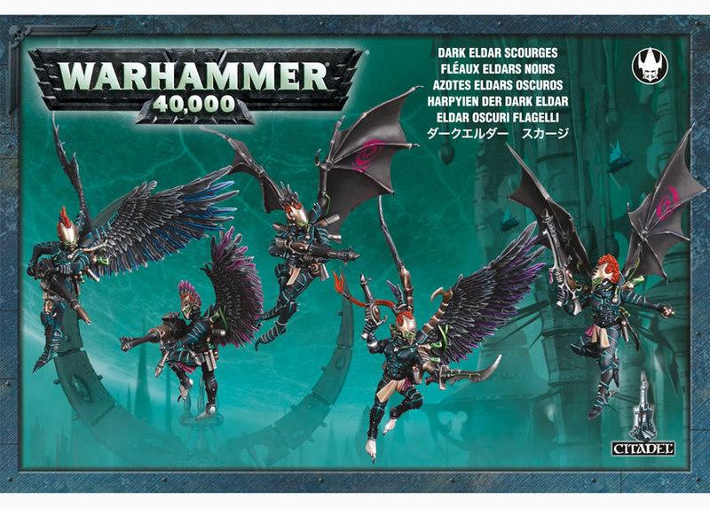 Warhammer 40,000 Dark Eldar Scourges image