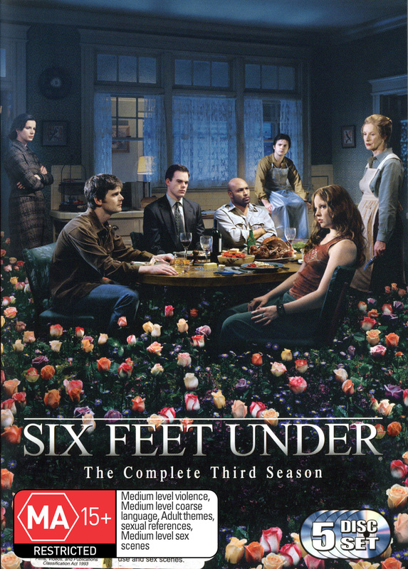 Six Feet Under - Complete Third Season (5 Disc Box Set) on DVD