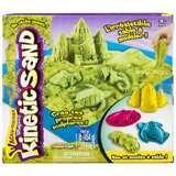 Kinetic Sand Box Set (Green)