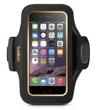 Belkin: Slim-Fit Plus Armband for iPhone 6 - Gold Trim/Blacktop