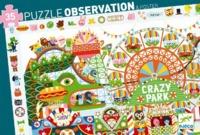 Djeco: 35pc Puzzle - Crazy Park