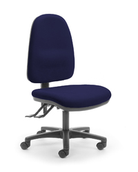 CS Alpha 3 Lever High Back Task Chair - Navy