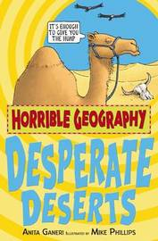 Desperate Deserts by Anita Ganeri