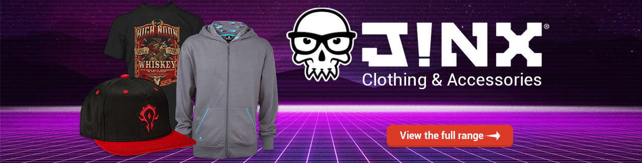 Jinx Clothing & Accessories!