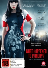 What Happened To Monday? on DVD image