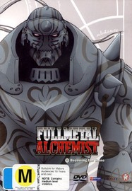 Fullmetal Alchemist Vol 11 - Becoming The Stone on DVD image