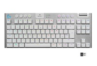 Logitech G915 TKL Wireless Mechanical Gaming Keyboard (GL Tactile) - White for PC