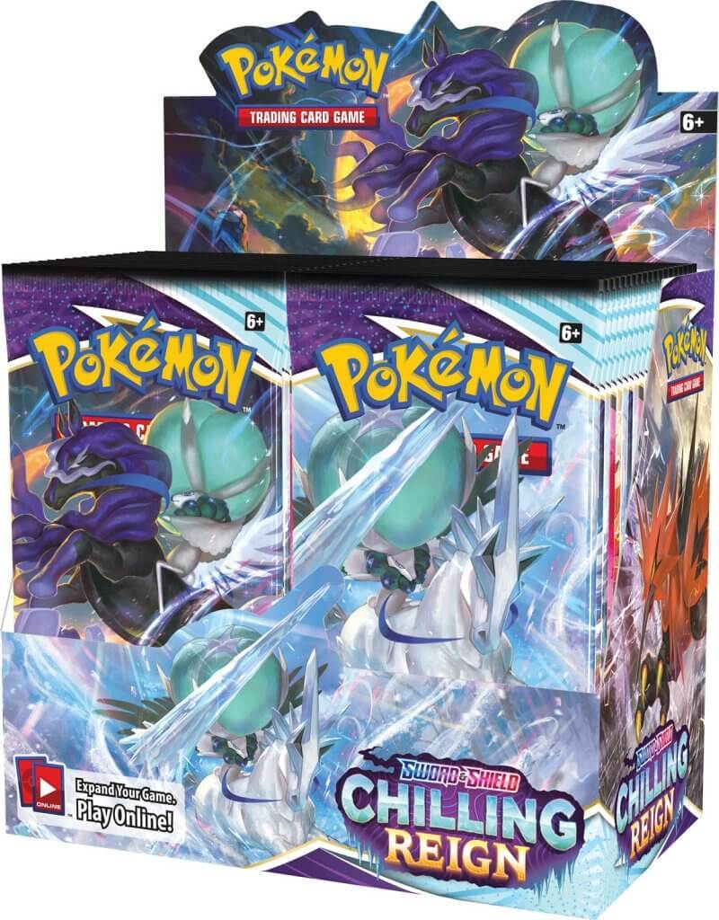 Pokemon TCG: Chilling Reign Booster Box image