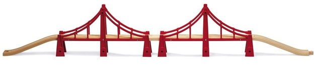 Brio: Railway - Double Suspension Bridge