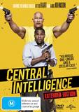 Central Intelligence DVD