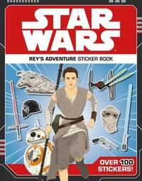 Star Wars Rey's Adventure Sticker Book by Lucasfilm Ltd