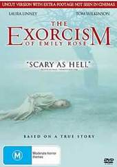 The Exorcism Of Emily Rose on DVD