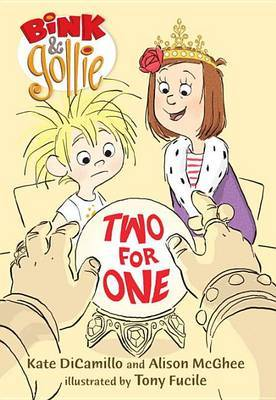 Bink and Gollie: Two for One by Kate DiCamillo image