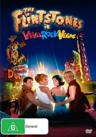 The Flinstones In Viva Rock Vegas on DVD