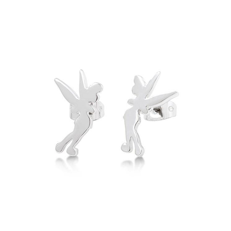 Disney Tinker Bell Silhouette Stud Earrings image
