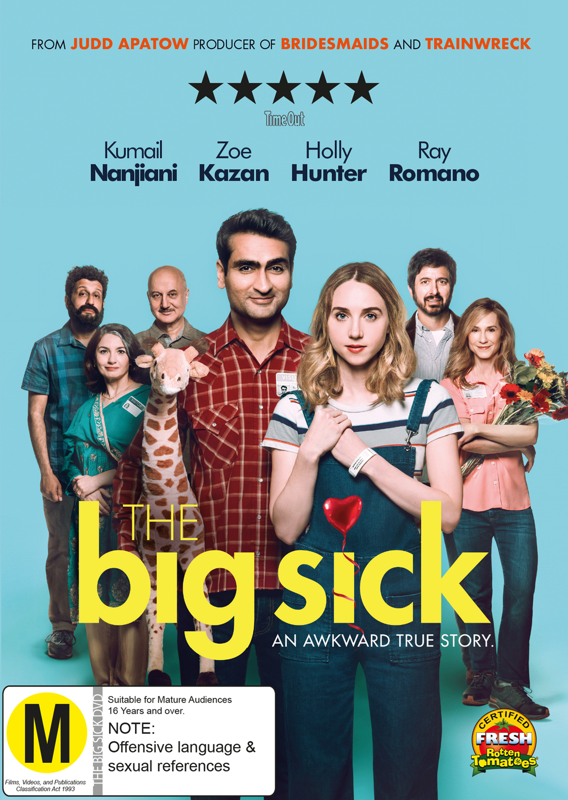 The Big Sick on DVD image