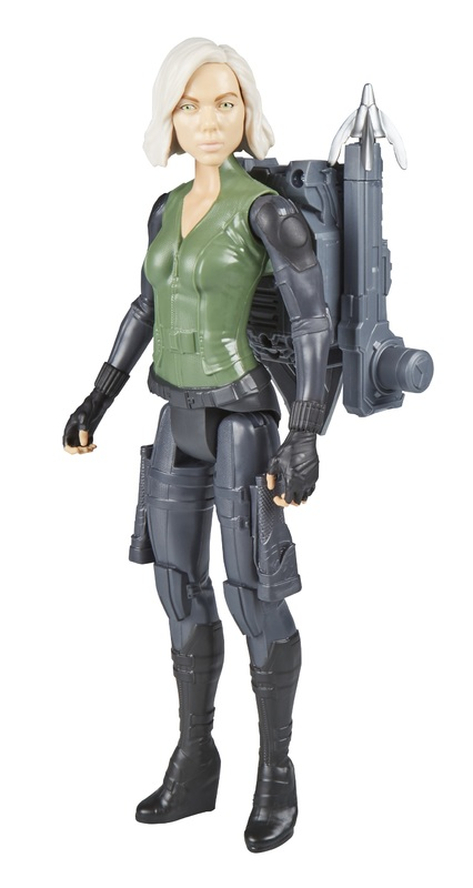 "Avengers Infinity War: Power FX Black Widow - 12"" Titan Hero Figure"