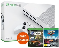 Xbox One S 1TB Rocket League Console Bundle for Xbox One
