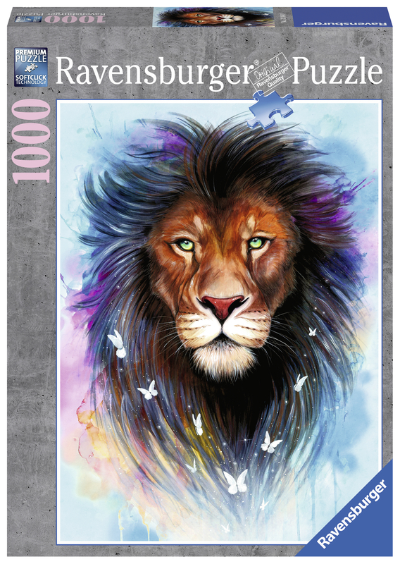 Ravensburger: 1,000 Piece Puzzle - Majestic Lion