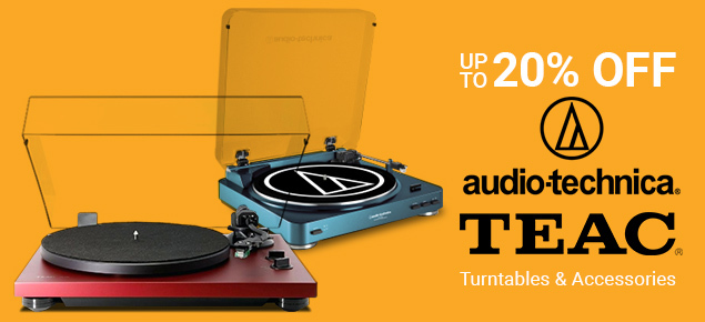 Turntable Specials for April! Save up to 20% off!