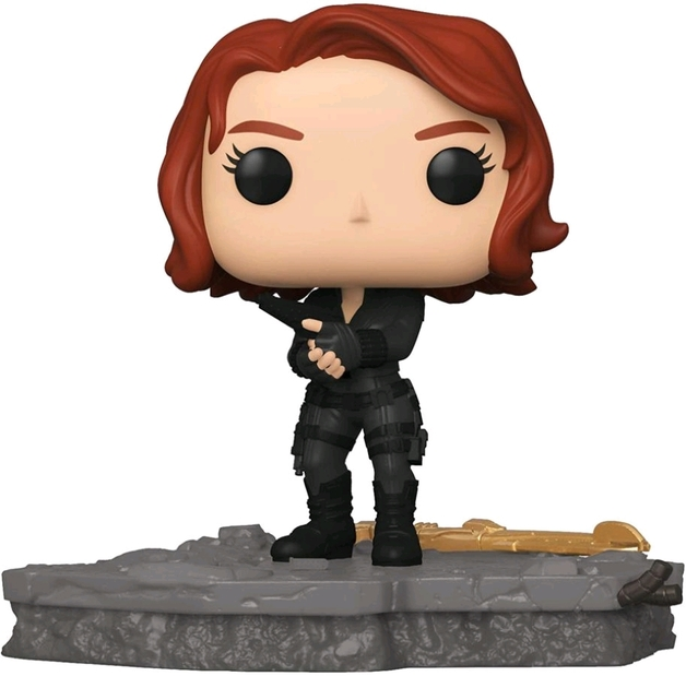 Marvel: Avengers Assemble - Black Widow Pop! Deluxe Figure