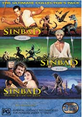 Sinbad Ultimate Collector's Pack (3 Disc Set) on DVD