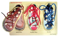 Fun Factory: Lacing Shoes Puzzle