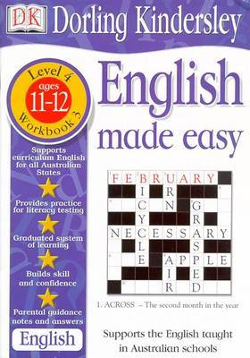 English Made Easy Level 4 (Age 11-12): Workbook 3 by Dorling Kindersley