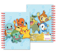 Pokemon Notebook (A5, Starter Pokemon)