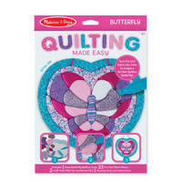 Melissa & Doug: Quilting Made Easy (Butterfly)