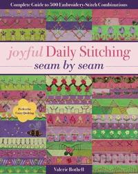 Joyful Daily Stitching - Seam by Seam by Valerie Bothell image
