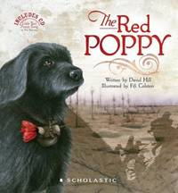 The Red Poppy by David Hill