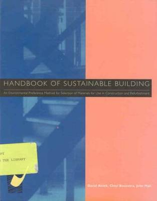 Handbook of Sustainable Building by David Anink image