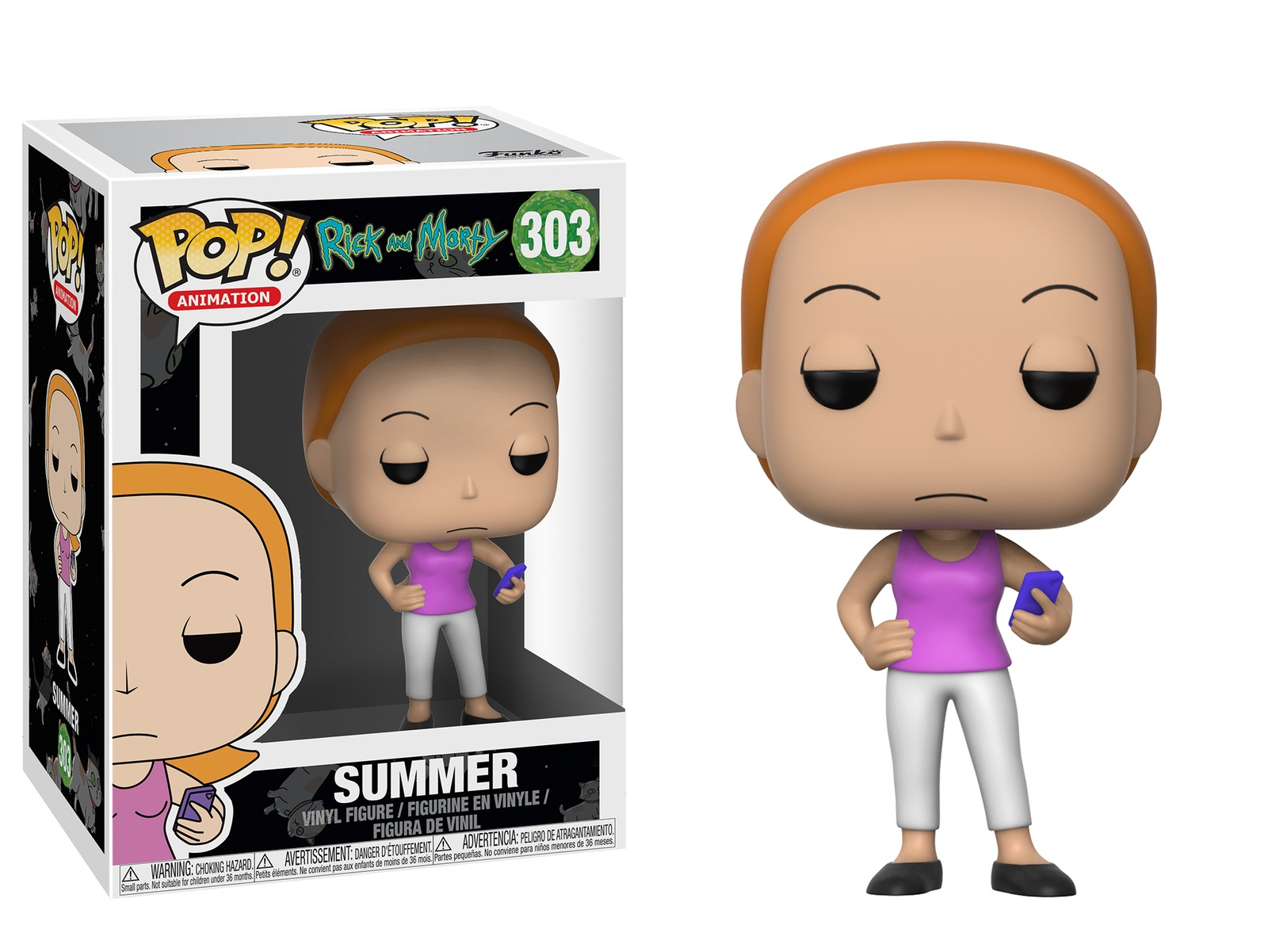 Rick & Morty – Summer Pop! Vinyl Figure image
