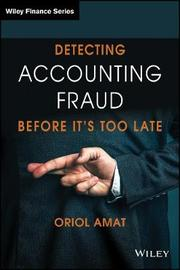 Detecting Accounting Fraud Before It's Too Late by Oriol Amat