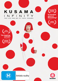 Kusama - Infinity on DVD
