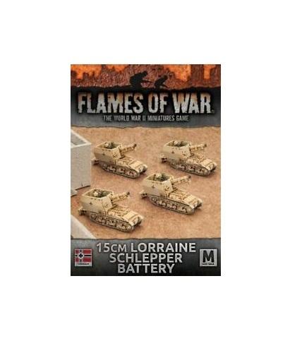 Flames of War: 15cm Lorraine Schlepper Artillery Battery