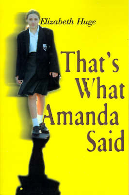 That's What Amanda Said by Elizabeth Huge image