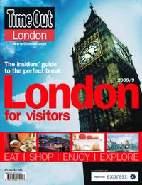 """Time Out"" London for Visitors Guide image"